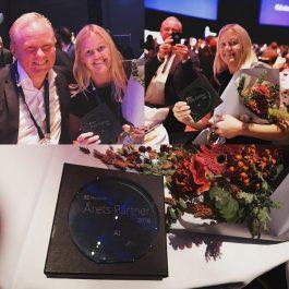Softronic blev Årets Partner inom AI med vår antipenningtvättstjänst CM1.