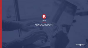 Annual Report (presentation)